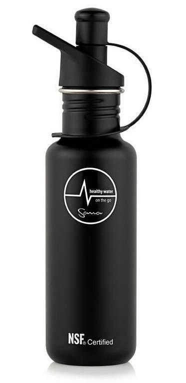 Zobrazit detail výrobku Filtrační láhev Sana 600 ml - barva černá