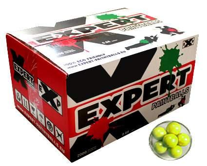 Zobrazit detail výrobku Paintballové kuličky EXPERT LETNÍ 2000ks