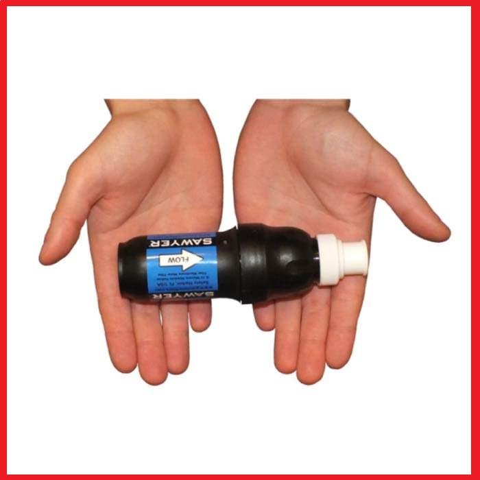 Vodní cestovní filtr SAWYER SP129 Squeeze Filter + dárek