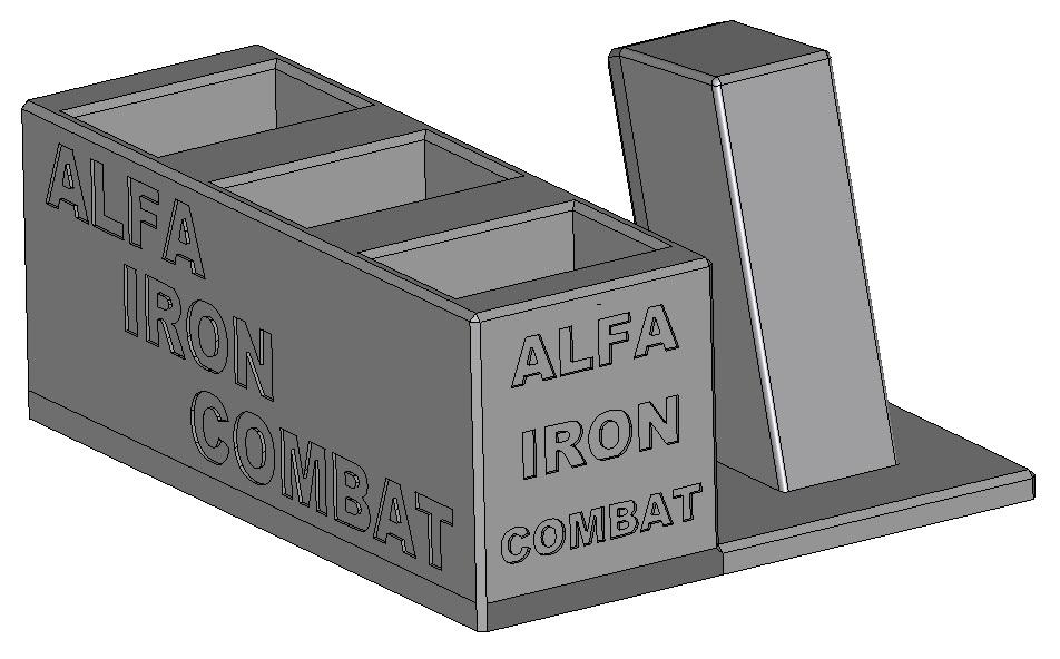 Zobrazit detail výrobku Stojánek do trezoru na Alfa Iron Combat a 3 zásobníky