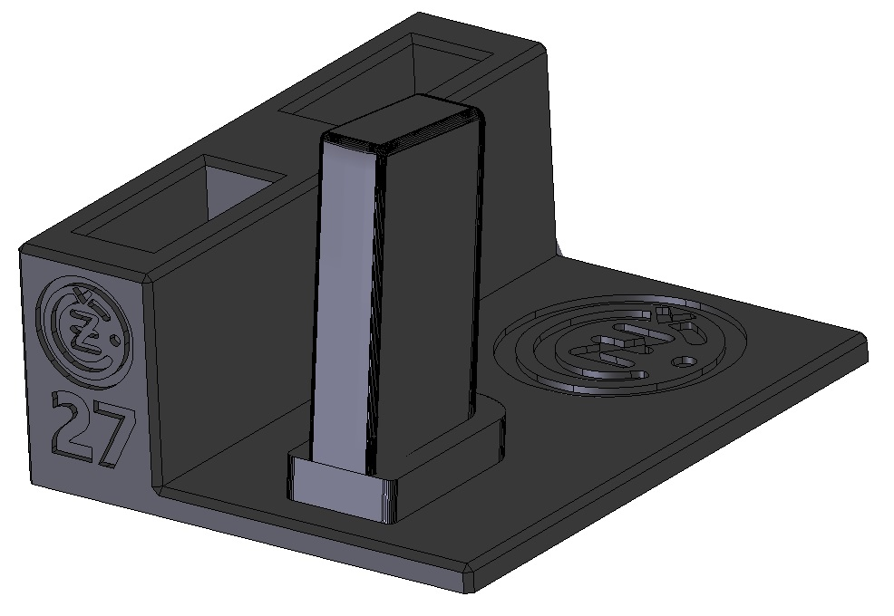 Zobrazit detail výrobku Stojánek do trezoru na CZ 27 a 2 zásobníky