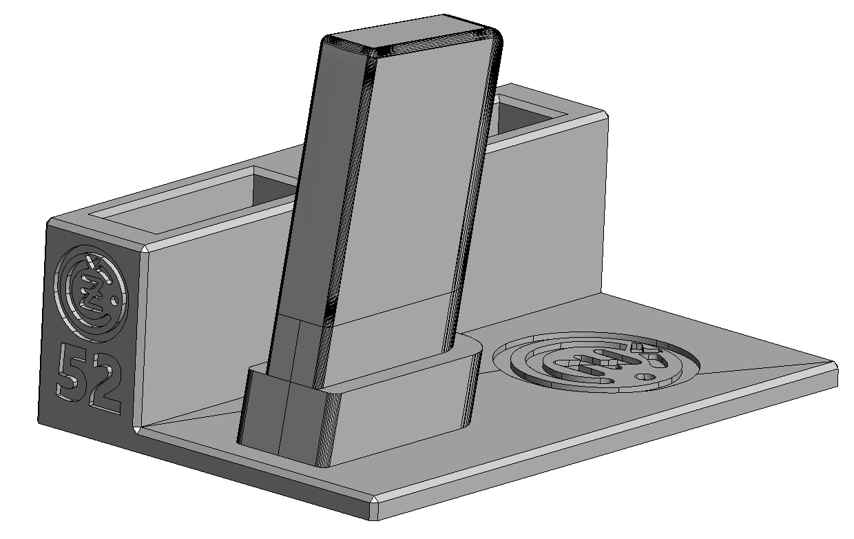 Zobrazit detail výrobku Stojánek do trezoru na CZ 52 a 2 zásobníky