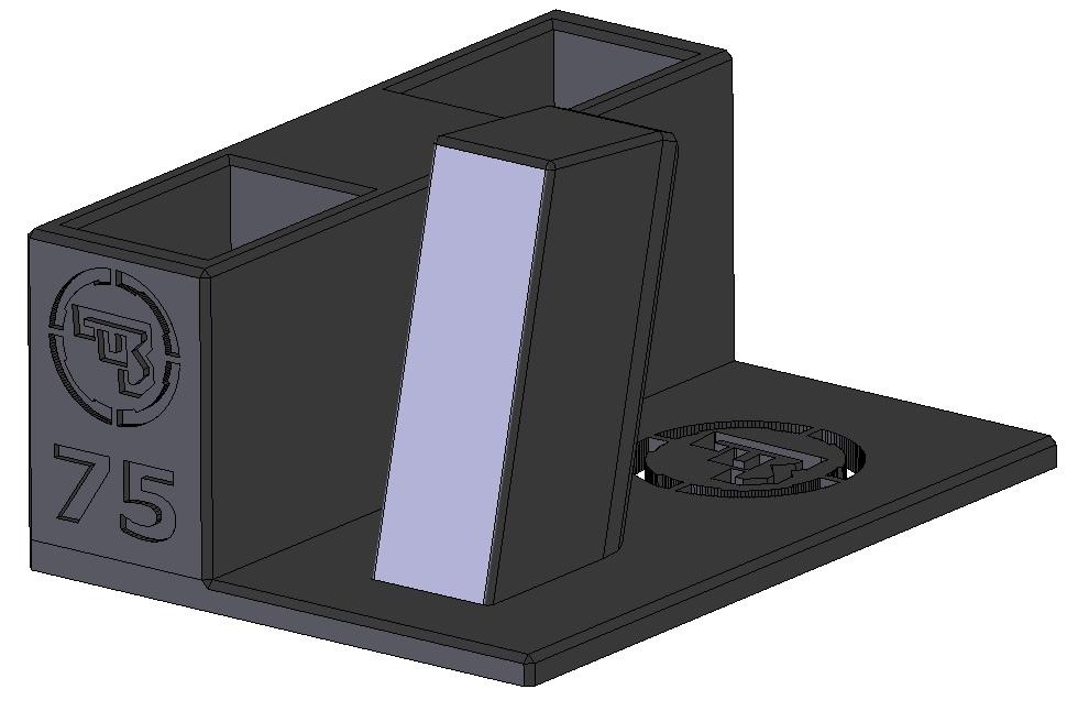 Zobrazit detail výrobku Stojánek do trezoru na CZ 75 a 2 zásobníky