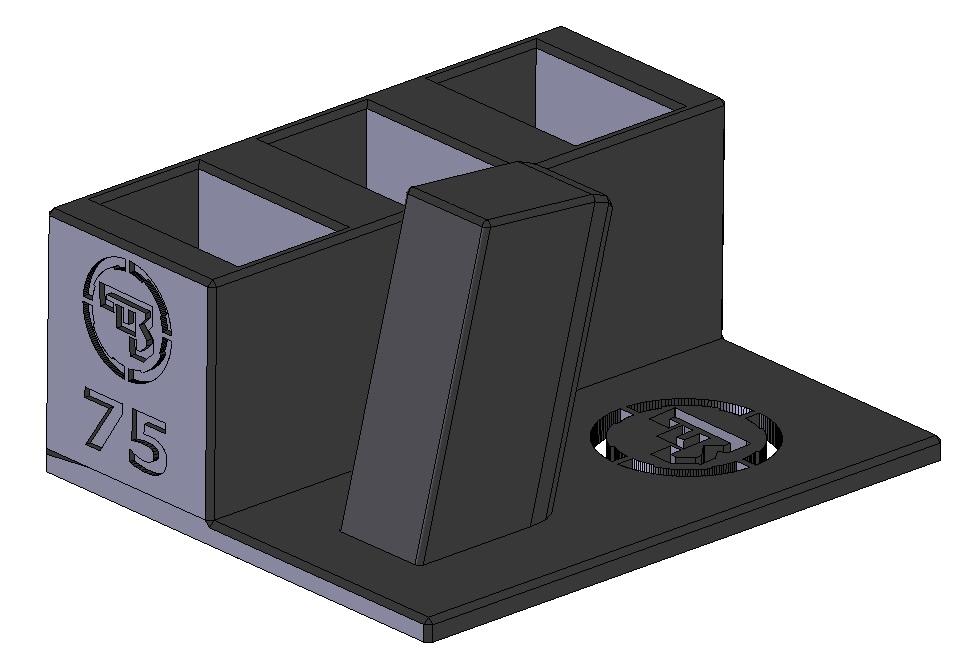 Zobrazit detail výrobku Stojánek do trezoru na CZ 75 a 3 zásobníky