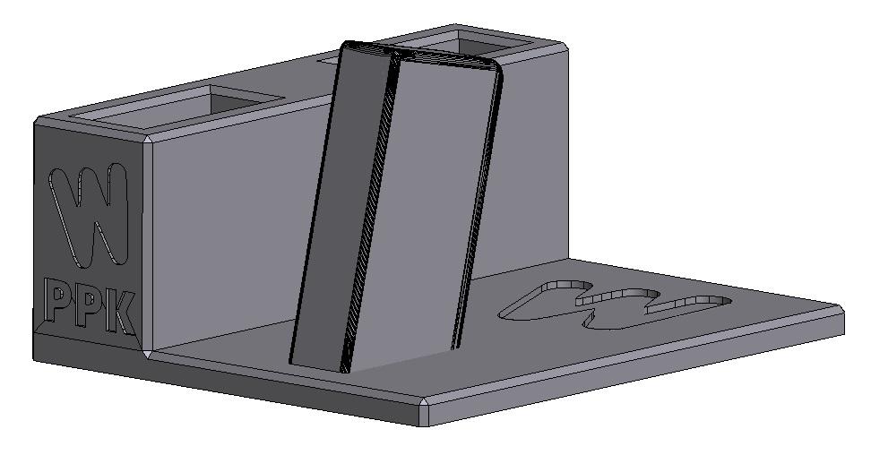 Zobrazit detail výrobku Stojánek do trezoru na Walther PPK + 2 zásobníky