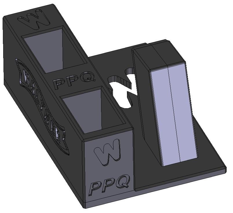 Zobrazit detail výrobku Stojánek do trezoru na Walther PPQ + 2 zásobníky