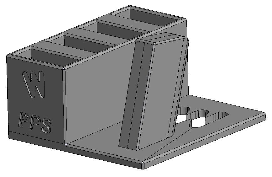 Zobrazit detail výrobku Stojánek do trezoru na Walther PPS + 4 zásobníky